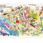 蛍池MAP