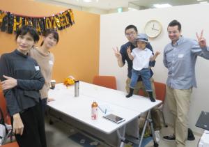 10/21 第1回目!インパクト英会話cafeの様子